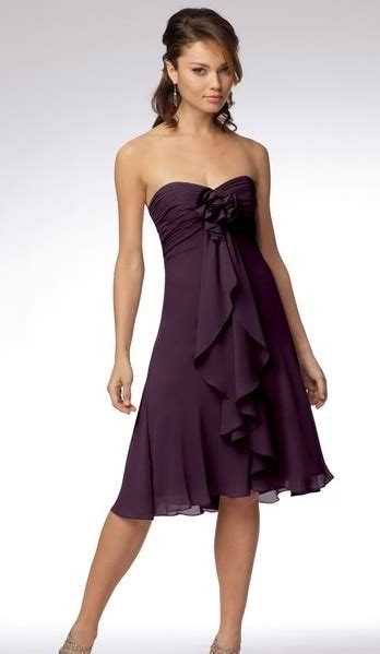 plum colored of the dresses plum bridesmaid dress from watters watters favorite