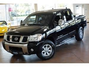 Nissan 4 Door Truck Find Used 2006 Nissan Titan Le Crew Cab Automatic 4 Door
