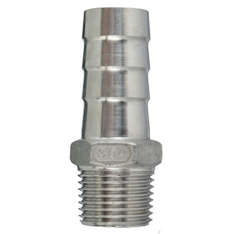 Garden Hose Fitting Size Thread Pipe Fitting X Barb Hose Connector