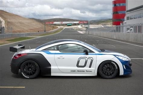 who makes peugeot cars 2012 peugeot rcz cup series one race car revealed