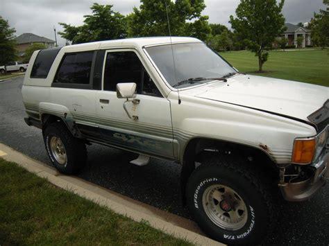 generation 1986 toyota 4runner dlx sport utility