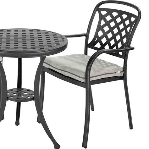 hartman berkeley cast aluminium armchair with cushion