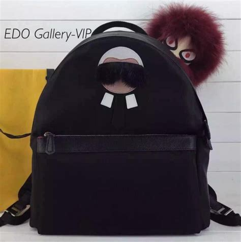 Fendi By The Way Autumn 2017 With Karlito Charms 7081 fendi karlito backpack price shellpluspoints co uk