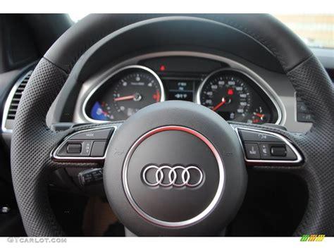 Audi Q7 Four Wheel Steering by 2014 Audi Q7 3 0 Tdi Quattro Steering Wheel Photos