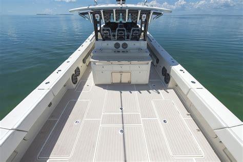 hydra sport boats 53 53 sue 241 os hydrasports custom at miami international boat show