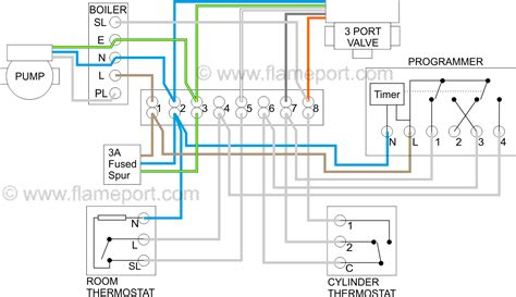 y plan central heating system in combi boiler wiring