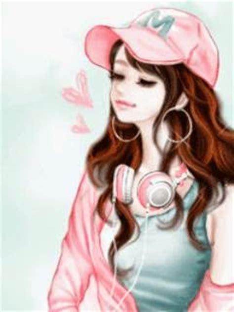 gambar wallpaper animasi cantik gambar kartun korea cewek cantik animasi bergerak korea