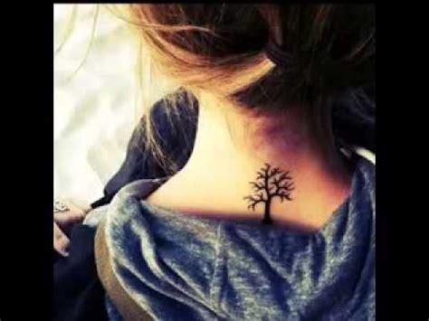 tato bintang keren di leher tato di belakang leher wanita youtube