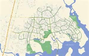 kingwood greenbelt map maplets