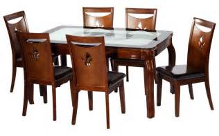 Dining Table With Bench Seating India Glass Dining Table 6 Seater 187 Gallery Dining