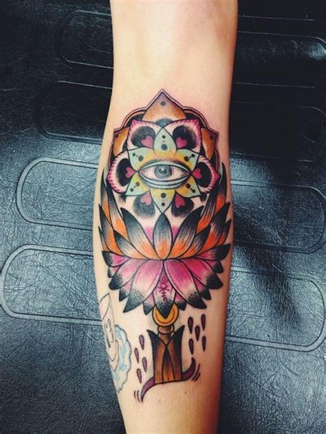 tattoo lotus leg 65 lotus flower tattoo designs that is full of meanings