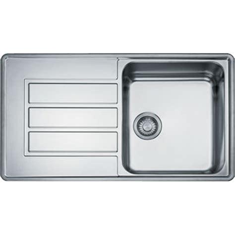 franke kitchen sinks uk franke alpina 1 0 bowl silk stainless steel kitchen sink