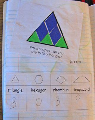 triangle pattern problem teaching shapes in early childhood you clever monkey