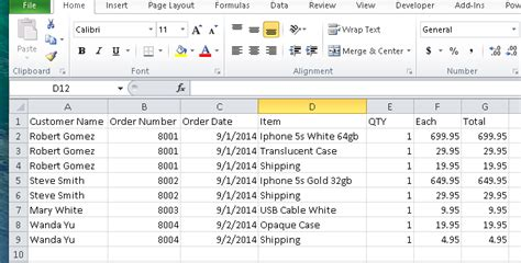 Import Sales Orders From Spreadsheet Into Quickbooks Quickbooks Training Quickbooks Excel Template For Quickbooks Import