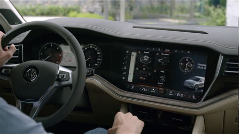 interieur volkswagen touareg 2019 vw touareg interior youtube