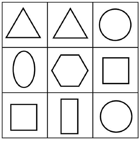 imagenes para colorear con figuras geometricas 100 figuras geom 233 tricas infantiles en dibujos para ni 241 os