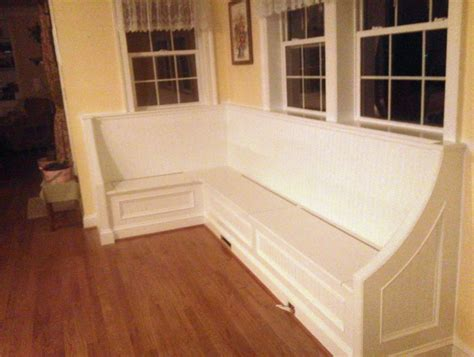 dining room bench with storage vintage dining room with corner dining bench storage white lace valance curtains and pale