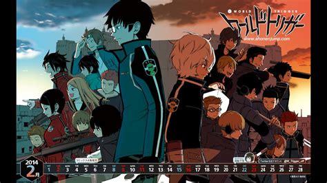 7 Anime One by World Trigger Mini Menu