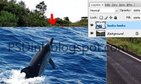 tutorial gambar lumba lumba tutorial photomanipulation dolpin on road