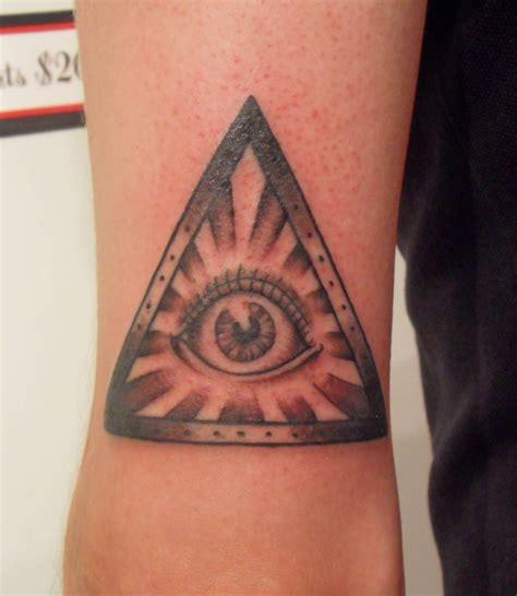 tattoo of eye in pyramid eye pyramid tattoo on arm tattooshunt com