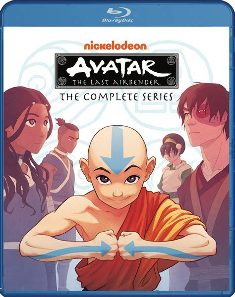 The Last Book 4 avatar the last airbender the complete series