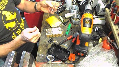 batterie black et decker 133 reconditionner r 233 parer refaire batterie visseuse