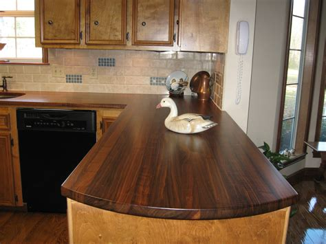 countertops options with solid surface tile materials