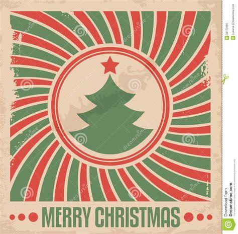 vintage crculo de concepto feliz navidad vector de stock concepto de dise 241 o plano de minimalistic para la tarjeta