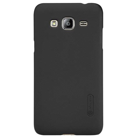 Hardcase Nilkin Frosted Samsung Galaxy J3 samsung galaxy j3 2015 nillkin frosted shield black