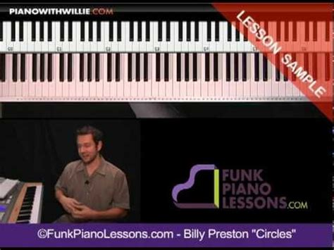tutorial piano funk introduction billy preston will it go round in circles