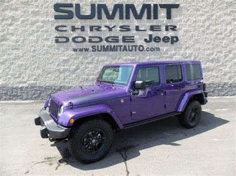 xtreme purple jeep sold 7j360 2017 jeep wrangler xtreme purple wisconsin