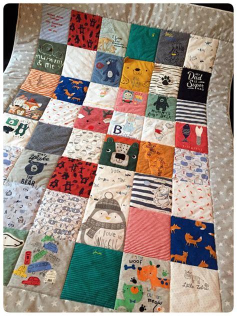 Patchwork Memory Quilt - keepsake quilt memory quilt keepsake blanket patchwork