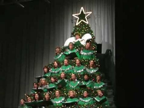 gacc e v the singing christmas tree o tannenbaum