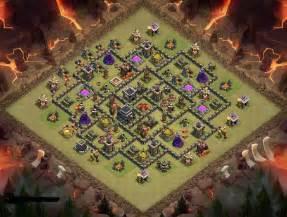 Berbagai macam contoh th9 war base coc 2015