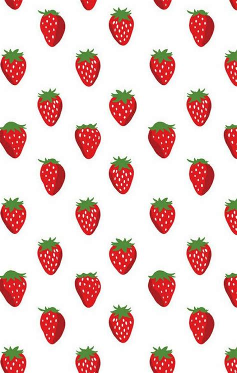 strawberry template strawberry wallpaper strawberry fabric