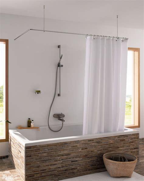 badewannen duschvorhangstange badewannen duschvorhang my