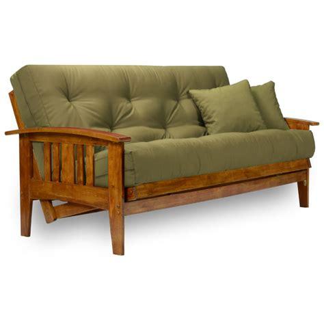 Futon Creations westfield wood futon frame heritage finish futoncreations