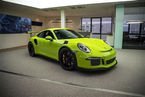 Porsche Gt3 Rs Green by Green 991 Gt3 Rs Search Stuff To Buy