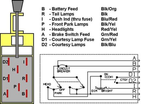 89 bronco headlight wiring diagram get free image about