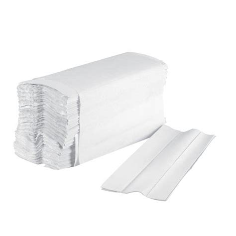 White C Fold Paper Towels - boardwalk 6220 white 1 ply c fold paper towels