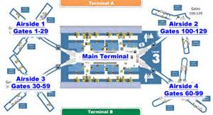 Orlando Airport Map by Orlando International Airport Terminal Info