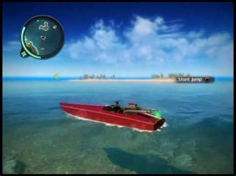 fast boat in just cause 3 just cause 2 boat underwater stunt youtube