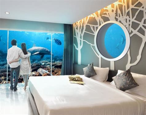 underwater rooms  holographic personal trainers hotels   future