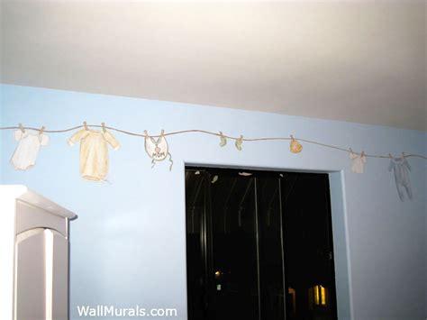 Cloth Wall Murals baby room wall murals nursery wall murals for baby boys