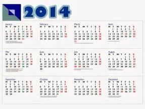 Kalender 2018 Komplit Jawa Kalender 2014 Liburan Tahun 2014