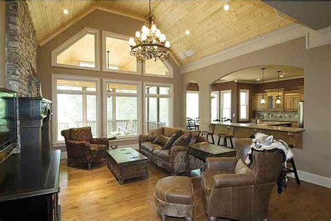 what is a great room in a house plan w15667ge split bedroom craftsman home plan e