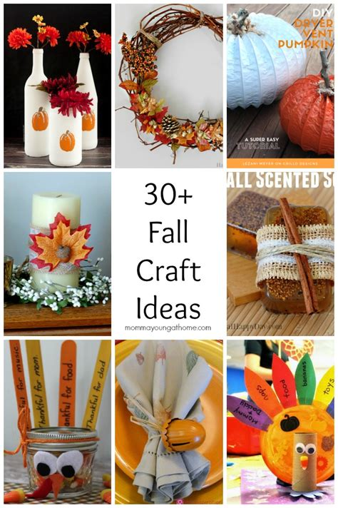 fall craft projects for adults fall craft ideas momma at home