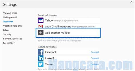 membuat banyak email sekaligus cara mudah akses banyak email yahoo sekaligus mangcara