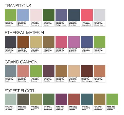 pantone colors of the year list the new pantone color of the year is our favorite yet