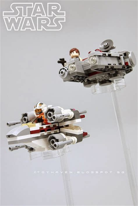 Lu Dinding Hello Wing Fanta goodbye 2014 hello 2015 with lego wars millennium falcon and x wing micro fighters scale